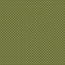 Baumwollstoff Pünktchen Olive METERWARE Webware Popeline Stoff Dots