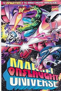 Onslaught Marvel Universe #1 - Oct/96 - with Avengers and Fantastic Four