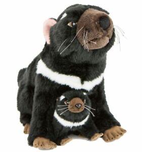 ~❤️~Tasmanian Devil By BOCCHETTA Ebony & Zippy Soft Toy Sitting Large 30cms~❤️~