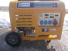 Lumag Stromerzeuger G8-E Stromgenerator Stromaggregat 1x400V 8000W 15Ps Benzin
