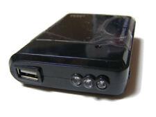 Cargadores, bases y docks negro cargador portátil para teléfonos móviles y PDAs, USB