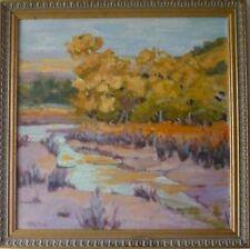 oil painting landscape After the Rain 17x17 original P.Hamilton impressionism