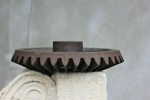 Vintage Huge Rare Salvage Cast Iron Gear Wheel Steampunk Wheel Heavy Industrial