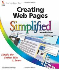 Creating Web Pages Simplified,Mike Wooldridge, Brianna Stuart