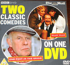 Two Classic Comedies - 'Allo 'Allo & One Foot In The Grave (DVD), Mail On Sunday