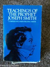 TEACHINGS OF THE PROPHET JOSEPH SMITH by Joseph Fielding Smith LDS MORMON