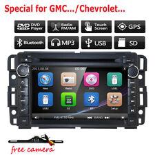 Car Radio DVD Player GPS For GMC Chevrolet Sierra 1500 2500HD 3500HD 2007-2013