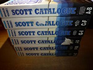 2003 Book SCOTT STANDARD POSTAGE STAMP CATALOGUE FULL 6 VOLUME SET