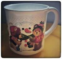 1984 Applause Party Bears Ceramic Collectibles mug.