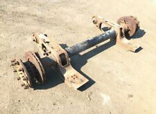 247963174820 Trailer Axle Air Suspension Singlewheel Discbrakes SAF