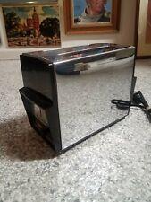 Vintage Toaster Proctor Silex 2 Slice Model #T204B Silver Chrome/Black