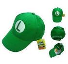 New Super Mario Bros Anime Cosplay Kids Adout Hat Luigi L Cap #L