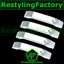 04-14 Ford F150 Triple Chrome Plated 4 Door Handle only Cover 2014 Trim Bezel