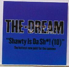 THE DREAM Shawty EDIT & INSTRUMENTAL PROMO CD Single dj