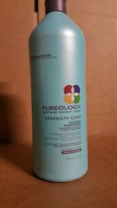 ❤Pureology Strength cure Shampoo ❤LITER SIZE  33.8oz❤FAST FREE SHIPPING ❤