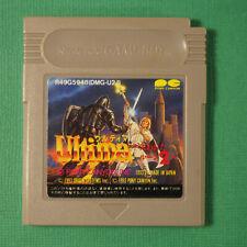 Ultima 2 (Nintendo Game Boy GB, 1993) Japan Import