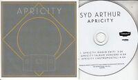 SYD ARTHUR Apricity 2016 UK 3-track promo CD Jason Falkner