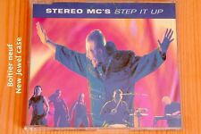Stereo MC's – Step It Up Lost in music - 4 tracks - Boitier neuf - CD maxi promo