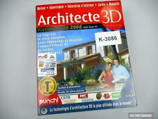 Architecte 3d platinium CAD 2006-DVD-rom avec 1 cédérom, for windows, Franz.
