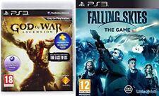 God OF WAR Ascensione & FALLING SKIES THE GAME NUOVO e SIGILLATO