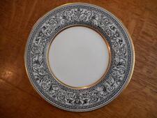 "Wedgwood Black Florentine bone china 6"" bread plate lightly used W4312"