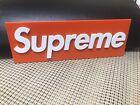 Supreme Box Logo Inspired 3D Printed Sign