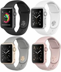 Apple Watch Series 3 38mm GPS ,GPS +Cellular Space Gray , Silver ,Gold Rose Gold