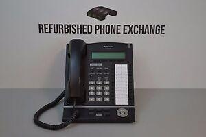 Panasonic KX-T7633-B Digital Phone Refurbished A-Stock Display Speakerphone