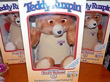 NEW !~MINT!~Vintage~1984~1985~Worlds~of~Wonder~Ted~Teddy~Ruxpin~Animatronic~Bear