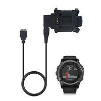 USB Data Charger Dock Cable for Garmin Fenix 3 HR Sapphire Quatix3 GPS Watch USA