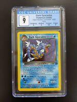 Dark Gyarados Holo 8/82 - Pokemon Team Rocket  - CGC 9 (PSA BGS)