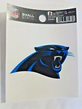 "Carolina Panthers 3 x 4"" Small Static Cling - Truck Car Auto Window Decal NEW"