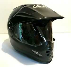 Arai XD-4 Dual Motorcycle Helmet - Black Frost - XXL - near mint condition