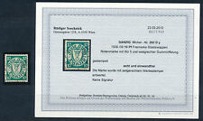 Danzig 10 Pfennig ruoli marchio 1938 saranno superiori. incise Michel 292 DY risultati (s14398)