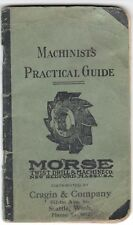 1935 Machinist's Practical Guide from Morse Twist Drill & Machine Co.