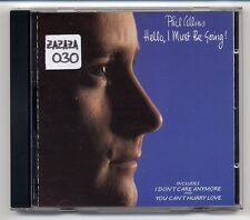 Phil Collins CD Hello I Must Be Going - GOLD CD - Limited Edition - genesis solo