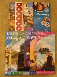 11 Most Recent 2020 Disney World Theme Park Maps + Disney Bonus Info!