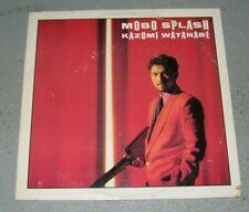 KAZUMI WATANABE Mobo Splash LP Original Classic Rock Jazz Fusion Guitar 1986