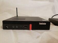 Lenovo Thinkstation P330 Tiny i7-8700T 2.4GHz 16GB 256GB SSD W10P P620 Quad