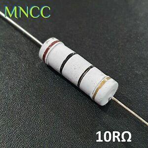 5 Watt 10RΩ 10 Ohm 5% Metal Oxide Film Resistor MO/X 700V 24mm Axial