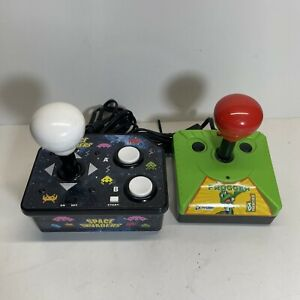 Space Invaders & Frogger Plug n Play TV Mini Arcade Retro Video Game - Works