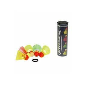 SPEEDMINTON® Speeder® 5er Mix Bälle Crossminton® Federball Federbälle + Windring