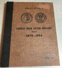 3 Morgan Silver Dollar Albums 1878-1921 Nice Albums For Your Coins!