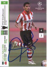 Carlos Salcido  PSV Eindhoven  CL 2007/08 Panini Card original signiert 407471