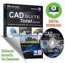 CAD SUITE Total 2D/3D - Professional CAD Software Suite (Download)