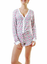 Femme Wildfox Renne Imprimer sommeil Ange multicolore taille XS RRP £ 115 BCF69