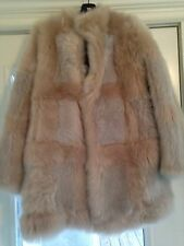 NWT Top shop Unique Shearling Coat