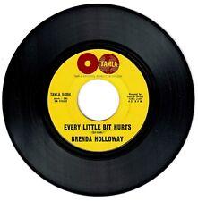 Brenda Holloway 1964 Tamla 45rpm Every Little Bit Hurts b/w Land Of A 1,000 Boys