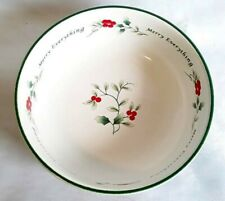 "Pfaltzgraff Winterberry ~ Merry Everything ~ 7"" Bowl"