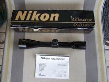 Nikon 4x40mm Pre Monarch Rifle Scope ~Gloss~ Japan